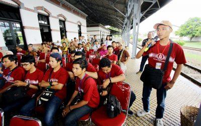Festival Peringatan Hari Museum Indonesia 2017 di Museum Kereta Api Ambarawa