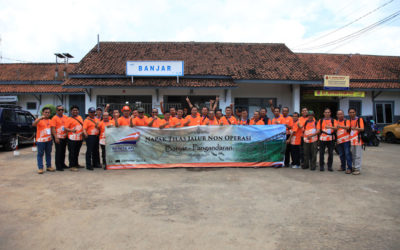 Observasi Aset Banjar-Pangandaran bersama KAI Daop 2 Bandung