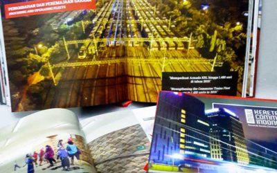 "Buku ""Menuju Kereta Commuter Indonesia"", Siap Menyambut Tantangan Baru"