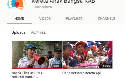 Kanal YouTube Kereta Anak Bangsa KAB