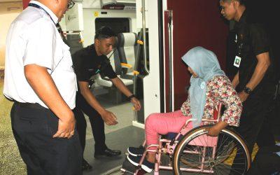 Disabilitas Jalan-Jalan Bareng Railink