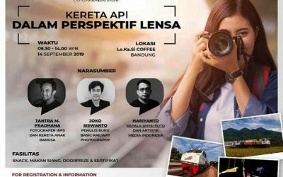 Berbagi Ilmu di Photography Workshop – Kereta Api Dalam Perspektif Lensa